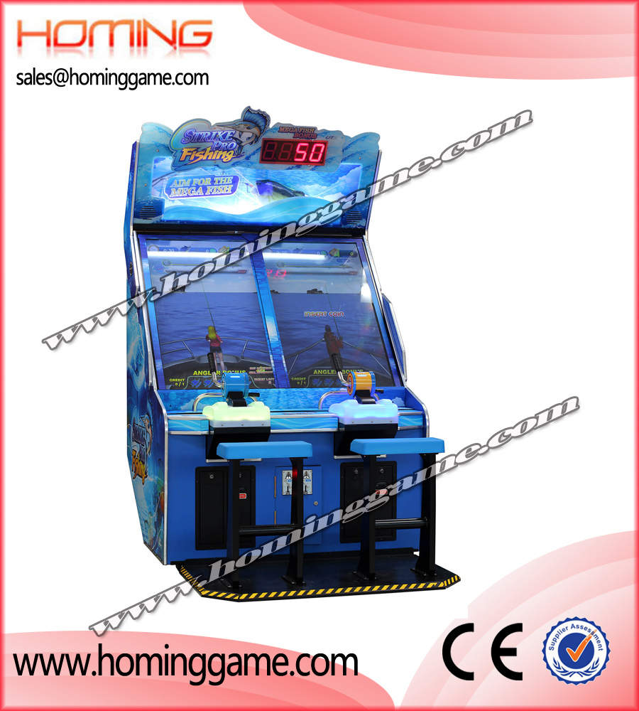 Strike Pro Fishing Redemption Arcade Game Machine,fishing game machine,kdis fishing game machine,redemption ticket game machine,stirke pro fishing,game machine,arcade game machine,coin operated game machine,amusement park game machine,indoor game machine,electronic game machine,amusement park game equipment
