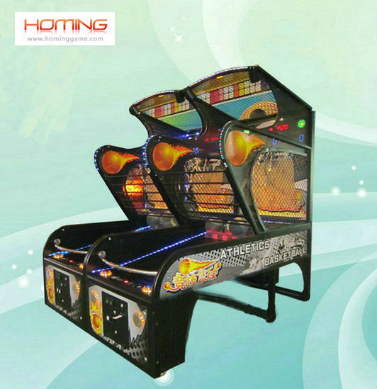 Athletics Basketball game machine(Deluxe) ,basketball shooting machines, basketball game machine,arcade basketball games