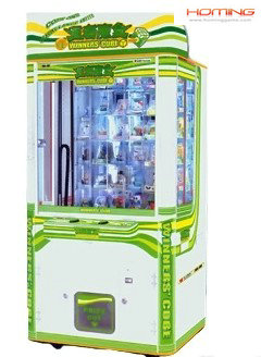 Cube prize game machine,capsule prize game machine,push prize game machine,prize vending game machine,arcade game machine,coin operated game machine,game machine