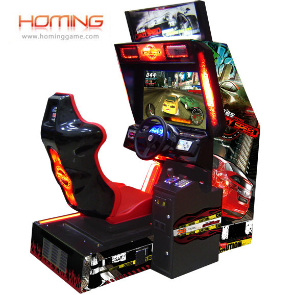 Crazy Speed racing car,racing car,simulator,arcade video game machine,game equipment