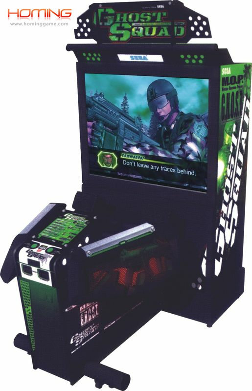 Ghost Squad gun shooting game machine,coin operated game machine,arcade video game machine