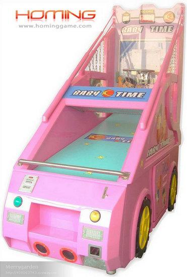 Baby Time Basketball Game Machine,Indoor Basketball Arcade Games