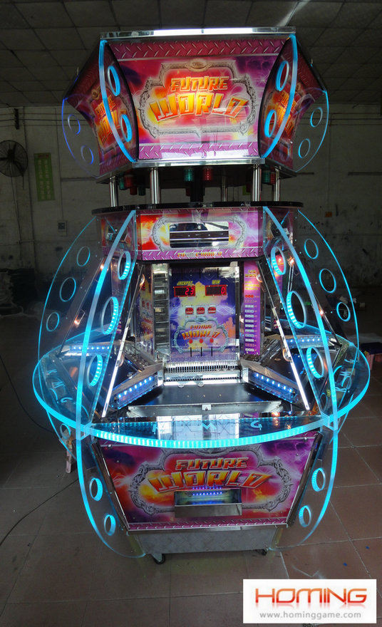 Future World Coin pusher game machine,coin pusher game machine,arcade coin pusher game machine,prize machines quarter coin pusher,full size penny pushers,amusement machines