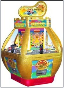 Gold Fort coin pusher,coin pusher,arcade game machine,amusement equipment,coin pusher game machine