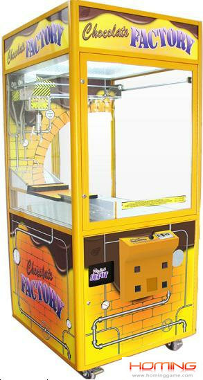 Chocolate machine,prize vending game machine