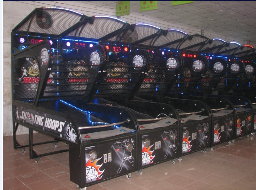 redemption coin operated amusement sports game machine,Indoor Basketball Arcade Games