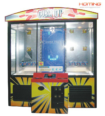 Luxury pile up prize game machine,stacker game machine