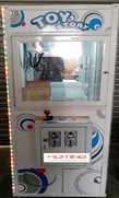 small crane machine,crane machine,game machine,coin operated game machine,arcade game machine,claw game machine