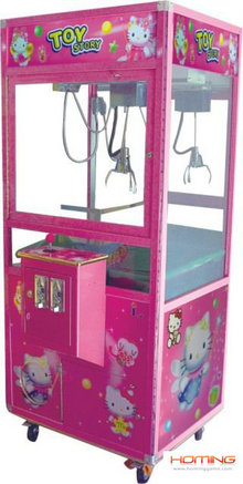 Pink toy story crane machine,toy story crane machine,arcade claw game machine,crane machines,gamem machine,arcade game machine,coin operated game machine