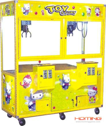 Double player crane machine,claw machine for sale,claw toy story grabbing,machine crane,wheel claw machine game for sale,toy house crane machine,toy story plush crane machine,toy story plush crane machine,game machine,arcade game machine,coin operated game machine