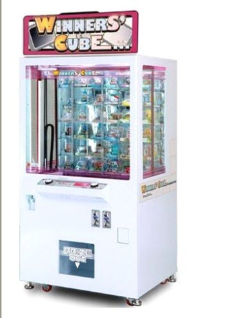 Winners' Cube prize game machine