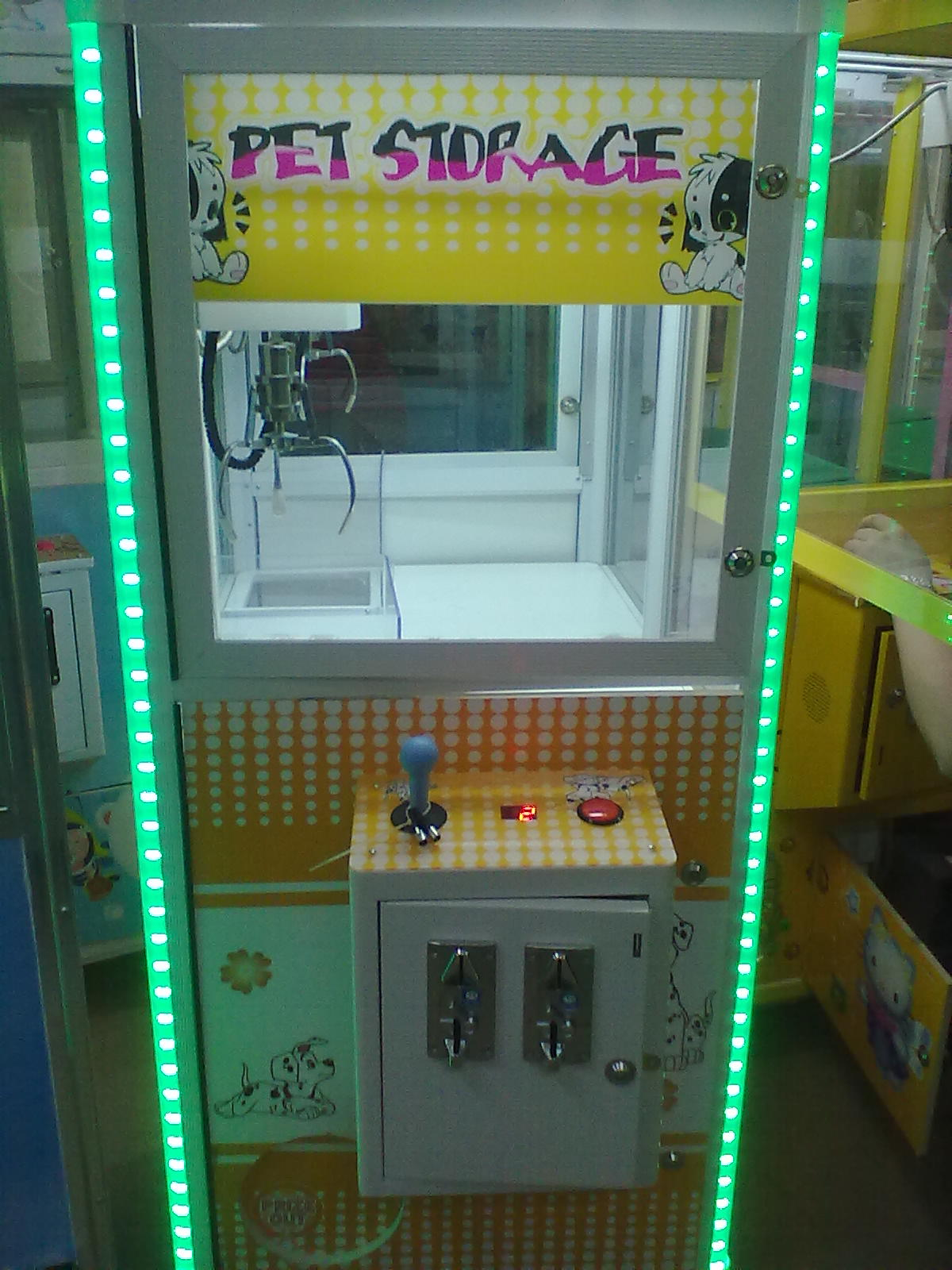 Small Crane machine
