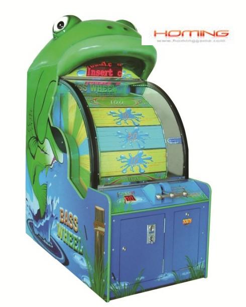 Bass Wheel redemption game machine,redemption game machine,game machine,coin operated game machine,amusement game machine,game equipment,arcade game machine for sale