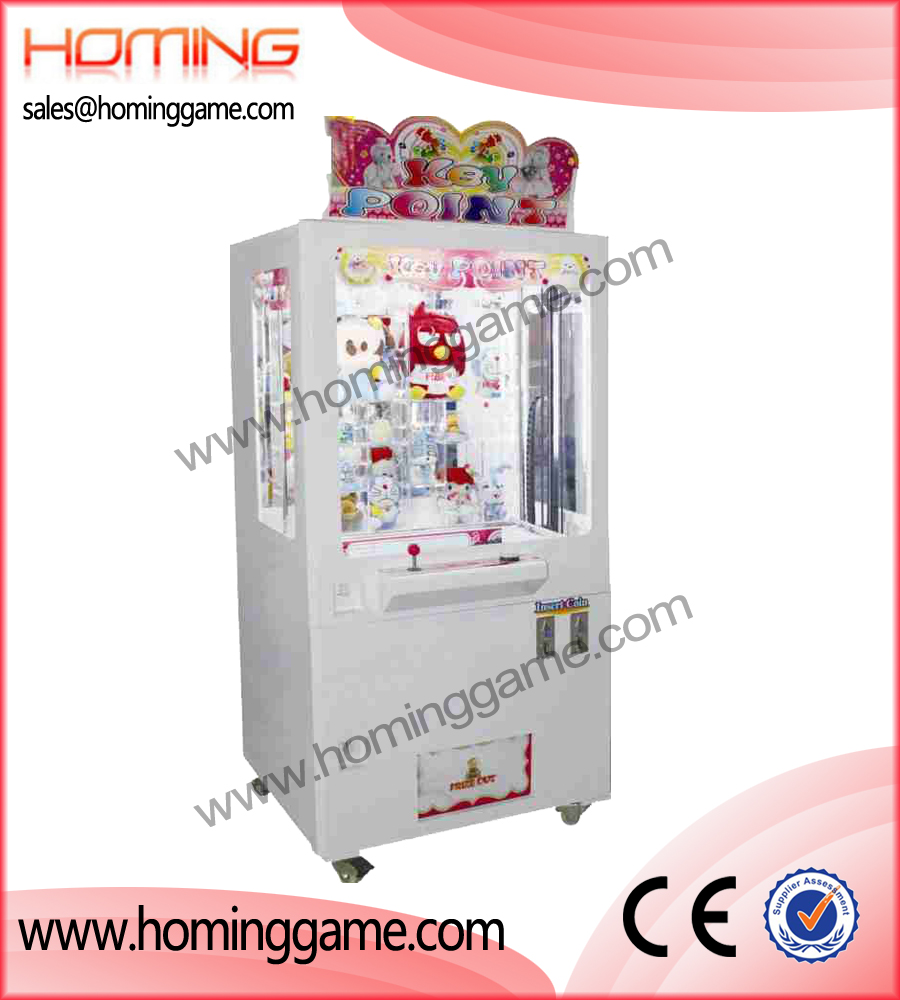 key push prize game machine,key point push prize game,winner cube prize game,game machine,arcade game machine,indoor game machine,coin operated game machine,game equipment,amusement machine,amusement game equipment