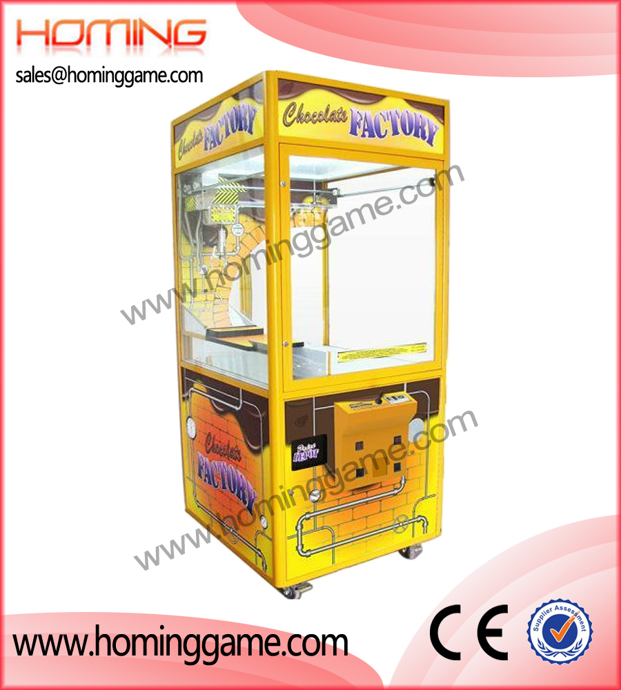 chocolate crane machine,prize game machine,prize vending machine,game machine,arcade game machine,coin operated game machine,amusement machine,amusement equipment,amusement game machine