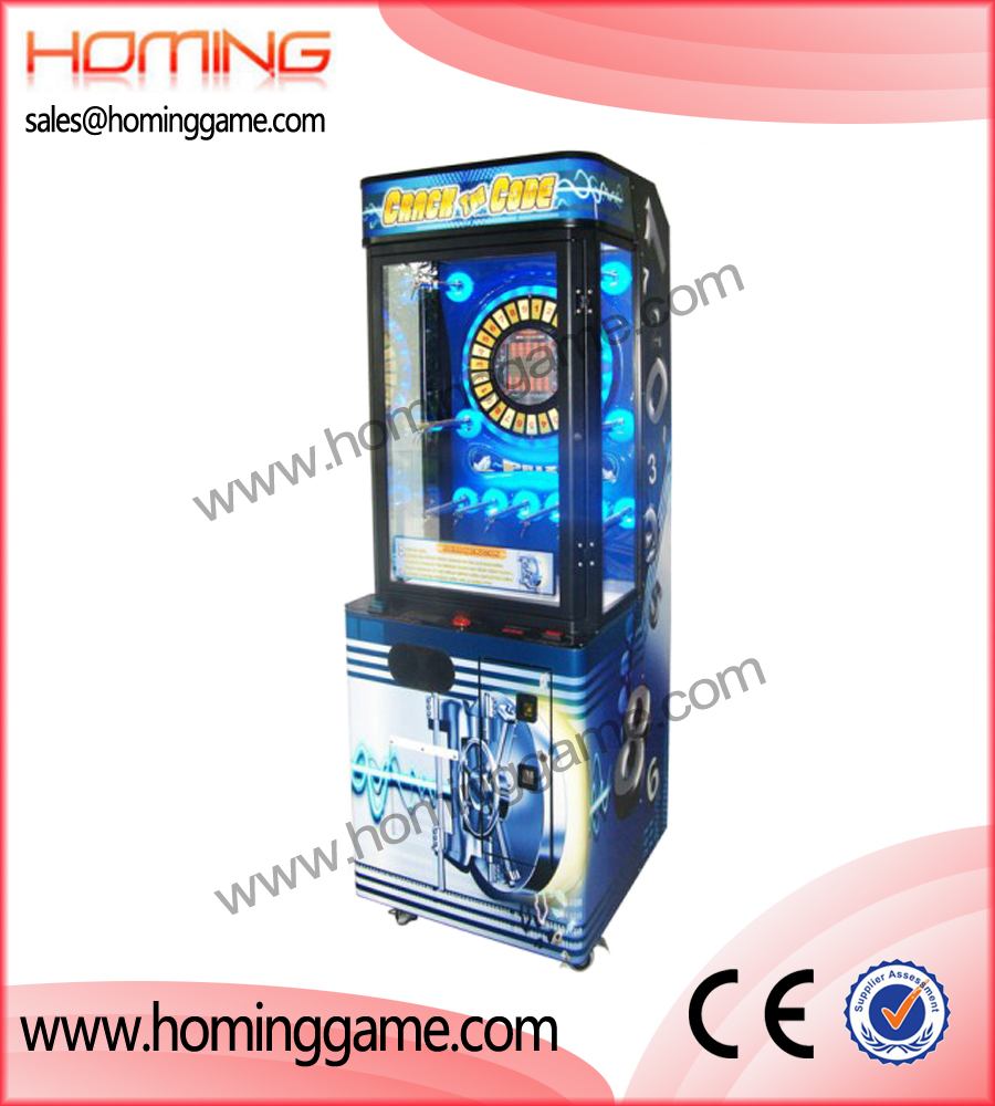 crack the code prize game machine,prize game machine,vending game machine,game machine,coin operated game machine,game equipment,amusement machine,amusement game equipment
