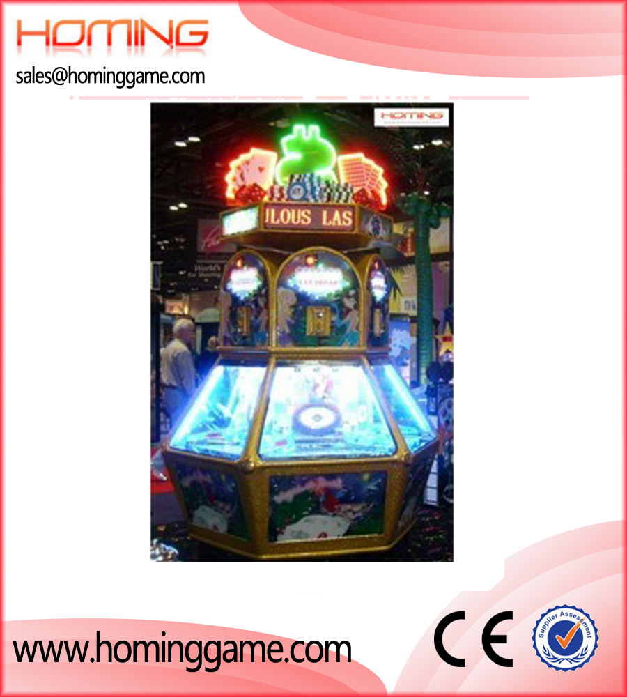 Las Vegas coin pusher,coin pusher game machine,game machine,arcade game machine,coin operated game machine,amusement machine,amusement game equipment,electrical slot game machine