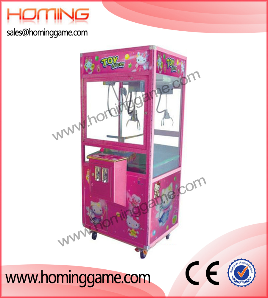 Pink toy story crane machine,game machine,arcade game machine,coin operated game machine,amsuement machine,amusement game equipment,arcade game machine for sale,electrical slot game machine