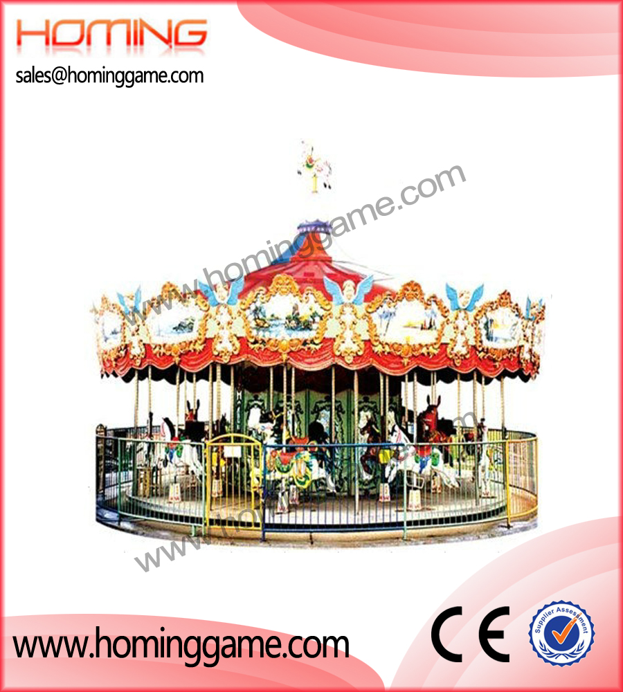 carrousel rides 24 players,carousel ride,amusement park game equipment,game machine,arcade game machine,coin operated game machine,outdoor game equipment