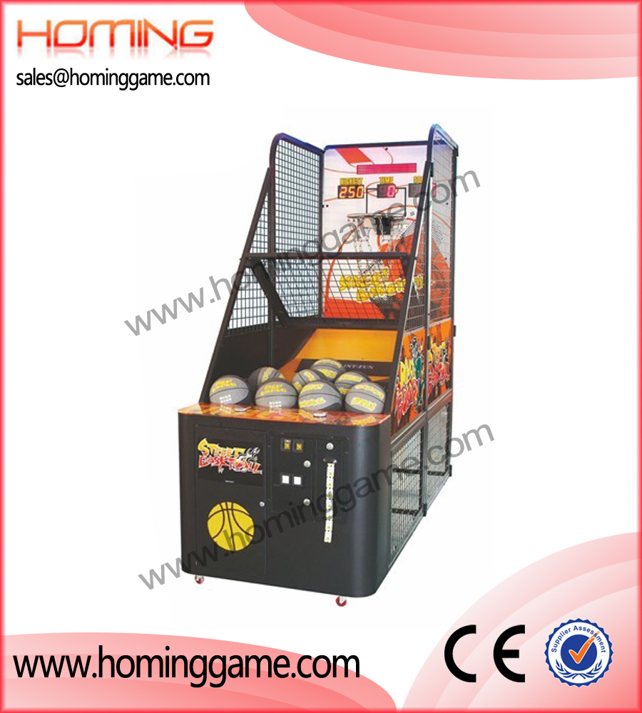 Street Basketball game machine,game machine,arcade game machine,coin operated game machine,amusement game equipment,amusement machine,redemption game machine,indoor game machine