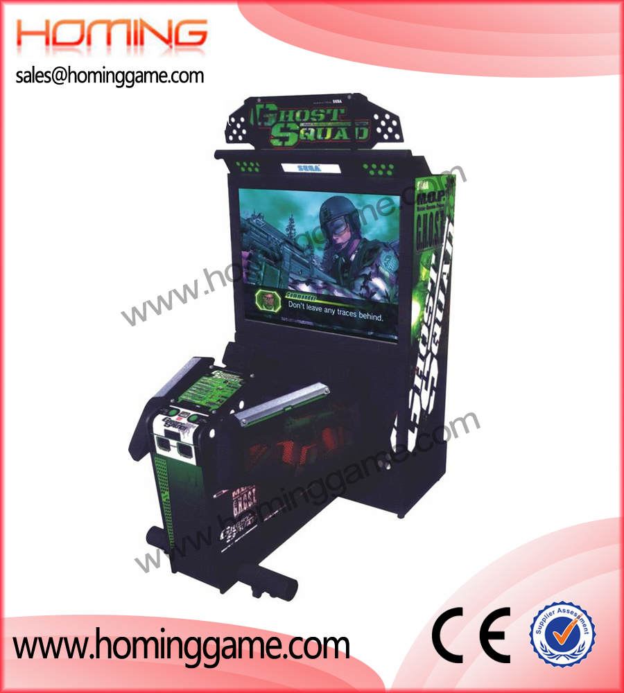 Ghost Squad gun shooting game machine,game machine,arcade game machine,coin operated game machine,indoor game machine,amusement game equipment,amusement machine